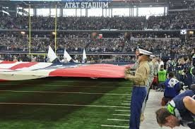 Dallas Cowboys American Flag Dallas Cowboy Flag Detail Shows Military Jointness In Fort Worth