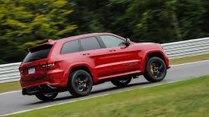 jeep cherokee ads jeep grand cherokee trackhawk 2017 review by car magazine