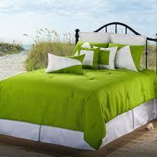 Green Bed Sets Latitude 13 Green White Comforter Set Free Shipping