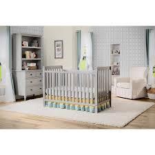 Delta 3 In 1 Convertible Crib Delta Children Waves 3 In 1 Convertible Crib Gray Walmart