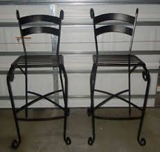 Pier One Bar Table Wrought Iron Bar Stools Foter