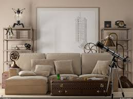 Faux Leather Paint - white wall paint color modern beige faux leather sleeper sofa