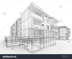 Residential Ink Home Design Drafting Apartment Building Drawing Home Design Ideas
