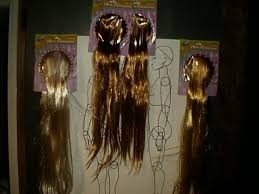 baby doll hair extensions atelier de poupée doll wig hair