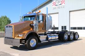kw semi trucks for sale 2008 kenworth t800 tri axle 131 truck sales youtube