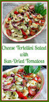 cheese tortellini salad with sun dried tomatoes recipe
