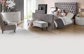 Kingsize Tv Bed Frame Impulse King Adjustable Tv Bed Mattress Dfs Ireland