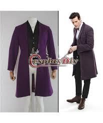 Mens Doctor Halloween Costume Custom Men U0027s Doctor Doctor Dr Dark Purple