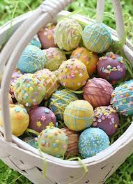 Edible Easter Egg Decorations by Easter Decor Craft U2013 30 Lovely Craft Ideas Including Table