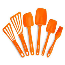 Kitchen Products by Amazon Com Rachael Ray Tools 6 Piece Utensil Set Orange Kitchen