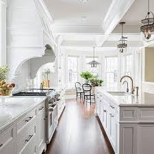 long kitchens long kitchen island design ideas