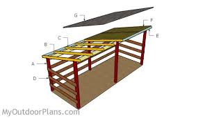 Plans To Build A Firewood Shed by Large Firewood Shed Plans Myoutdoorplans Free Woodworking