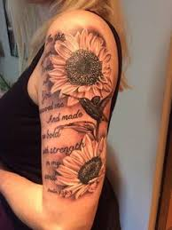 20 of the most boujee sunflower ideas arm sleeve tattoos