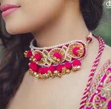 jewelry fashion necklace images 81 best gota patti jewellery images handmade jpg