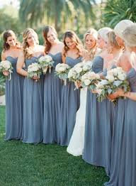 blue gray bridesmaid dresses on a beautiful day in early january and chris committed to
