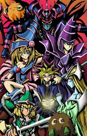 yu gi oh duel monsters colored by skytabula on deviantart
