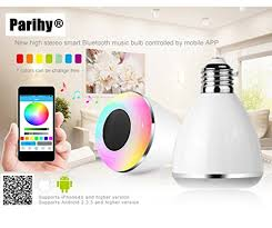 smart l with speaker smart led light bulb bluetooth speakers as low as 10 39
