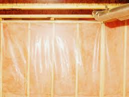 installing vapor barrier on basement walls