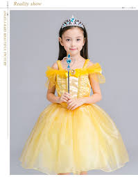 belle halloween costume kids popular princess belle buy cheap princess belle lots from china