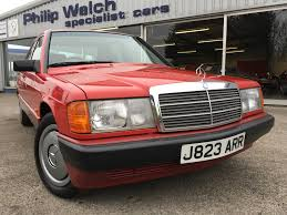 used 1991 mercedes 190 e 1 8 5 speed manual saloon for sale in