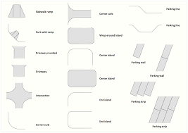 interior design site plan design element
