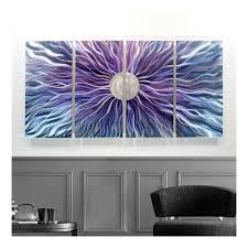 Deep Purple Bedrooms Contemporary Wall Art Purple Deep Purple Wall Art Purple Floral