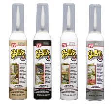 flex shot rubber sealant caulk sealant asseenontv shop