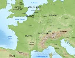 map of euorpe western europe physical map throughout blank of besttabletfor me