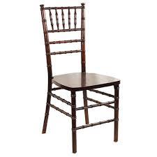 mahogany chiavari chair party makers chair rentals