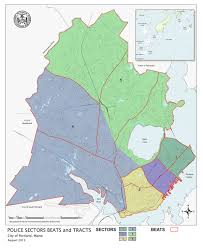Portland Crime Map by Community Policing Officers Portland Me