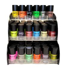 amazon com matte style 16 piece color nail lacquer combo set 6