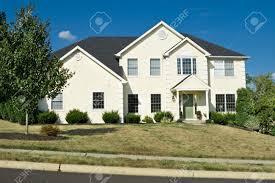 new modern single family house in suburban philadelphia pa