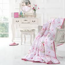 online shop european country style sweet pink flowers quilts and