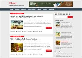 templates blogger themes ribbon blogger template best blogger themes professional