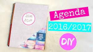 diy agenda 2016 2017 inspire par pinterest back to 2