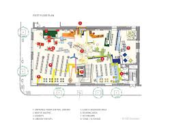 architect plan gallery of children u0027s library discovery center 1100 architect 6