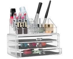 acrylic makeup organizer ikea home design ideas