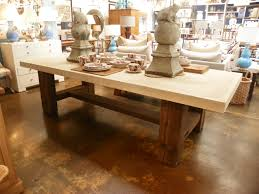 Antique Dining Furniture Antique Barn Timber Base Dining Table Mecox Gardens