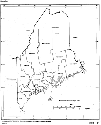Map Of Maine Towns Maine Maps Perry Castañeda Map Collection Ut Library Online