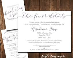 travel registry wedding best day printed wedding invitation rsvp sle