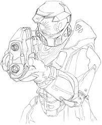 halo reach color pages heavy halo reach coloring free halo