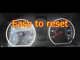 honda crv engine light how to reset oil life on a honda crv youtube