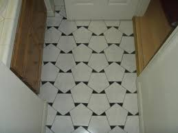 Tile Floor In Bathroom Three Mathematical Floors