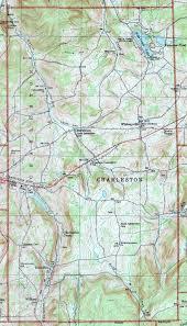 Charleston County Zoning Map Tioga County Pennsylvania Township Maps