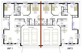 3 bedroom duplex floor plans with garage homes zone