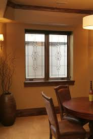 beautiful basement stained glass windows