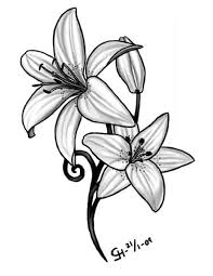 ultimate lily tattoo design tattooshunter com