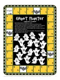 ghost hunter u2013 printable addition and subtraction game in