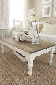Cottage Coffee Table 2018 Popular White Cottage Style Coffee Tables