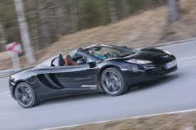 mclaren mc1 porsche 911 turbo s cabrio кузов 991 против mclaren mp4 12c spider